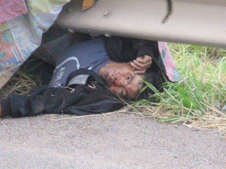 """¡Muere arrollado por un auto """"El Chayanne"""" en la carretera 45 norte!"""
