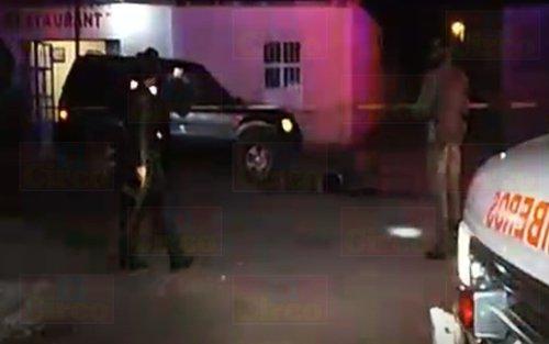 ¡Masacran a tiros a cuatro personas en el interior de una fonda en Fresnillo!