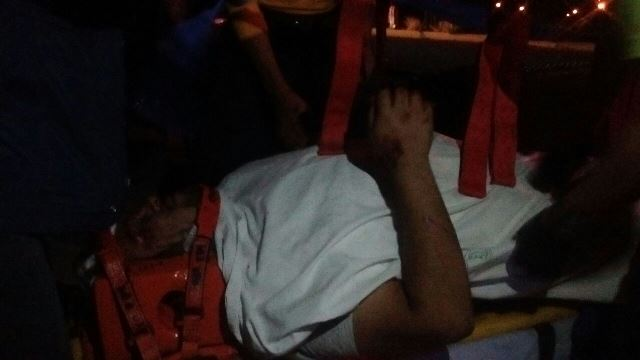 ¡7 lesionados dejó aparatoso choque-volcadura entre 3 camionetas en Aguascalientes!