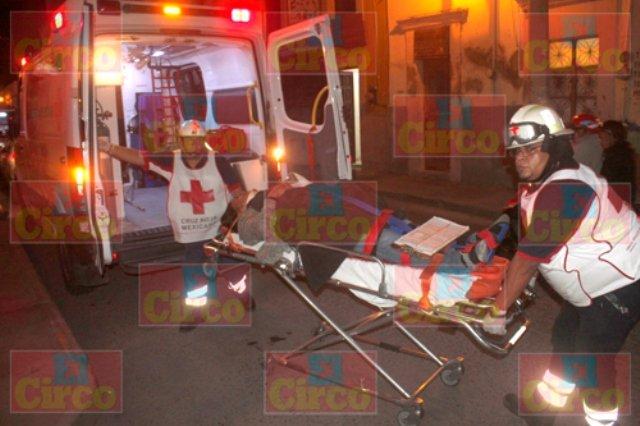 ¡4 aguascalentenses lesionados tras un accidente en Lagos de Moreno!