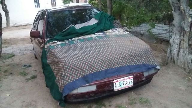 ¡Por una venganza le balearon e incendiaron su auto a un hombre en Aguascalientes!