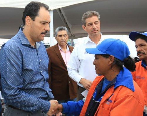 ¡Entrega Gobierno Municipal obras de ampliación del departamento de aseo público!