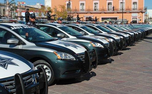 ¡Dejará Alcalde de Aguascalientes corporación policiaca mejor equipada!