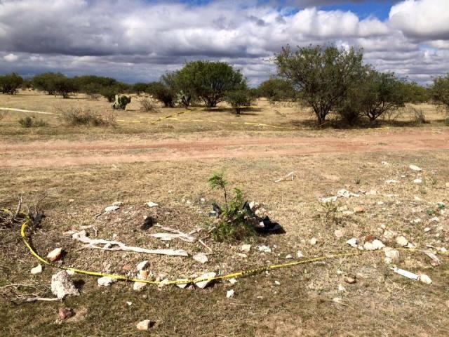 ¡Aún no identifican al ejecutado-encobijado que tiraron cerca del rancho del gobernador de Aguascalientes!