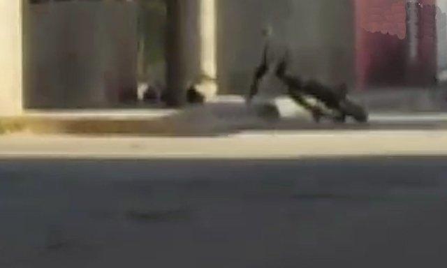 ¡Menor de edad fue ejecutado a balazos afuera de un templo en Fresnillo!