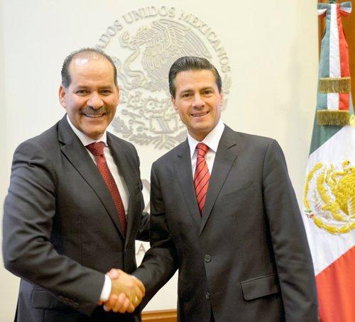 ¡Se reúne el Presidente EPN con el Gobernador Electo de Aguascalientes, Martín Orozco Sandoval!