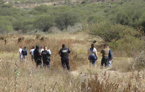 GALERIA/¡Encuentran osamenta humana en camino de terracería en Aguascalientes!