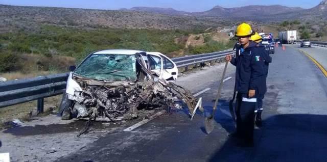 ¡Impresionante carambola dejó 1 muerto y 3 lesionados en Zacatecas!