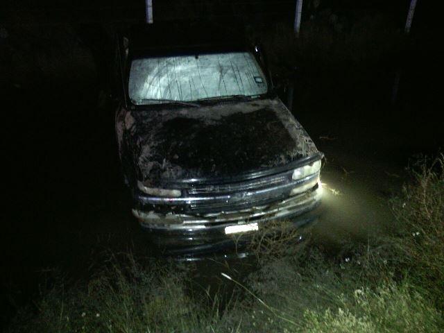 ¡1 muerto y 2 lesionados tras la volcadura de una camioneta en Aguascalientes!
