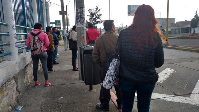 ¡Paran transportistas en Aguascalientes para exigir incremento en las tarifas!