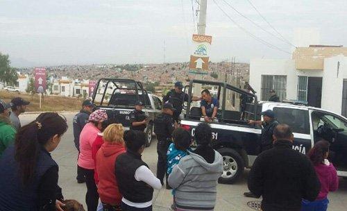 ¡Brutal golpiza dieron vecinos a un par de ladrones en Aguascalientes!