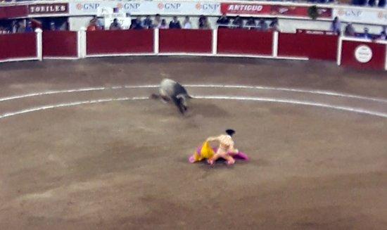 """¡Luis David Adame es arrollado por el toro """"Tito"""" en Aguascalientes!"""
