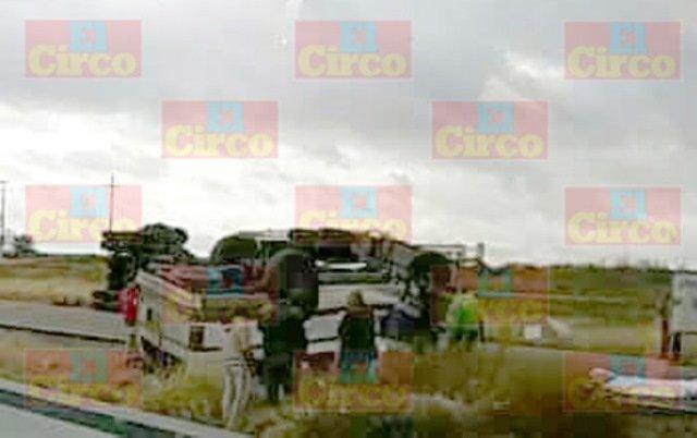 ¡3 muertos y 4 lesionados tras brutal accidente en Calera, Zacatecas!