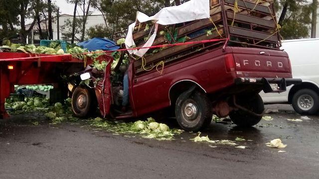 ¡1 muerto y 3 lesionados tras fuerte accidente en Aguascalientes!