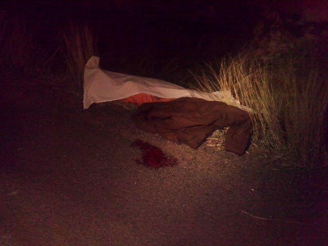 ¡Motociclista falleció tras impactar a un venado en una carretera en Aguascalientes!