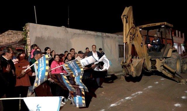 ¡Arranca Municipio de Jesús María pavimentación en Margaritas!