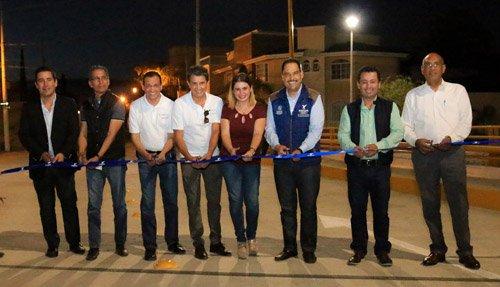 ¡Inauguró el alcalde nueva infraestructura vial al norte de la ciudad de Aguascalientes!