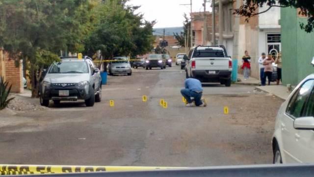 ¡Pistoleros motociclistas se enfrentaron a balazos en Guadalupe, Zacatecas!