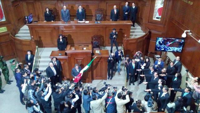 ¡Inició funciones la LXIII Legislatura!