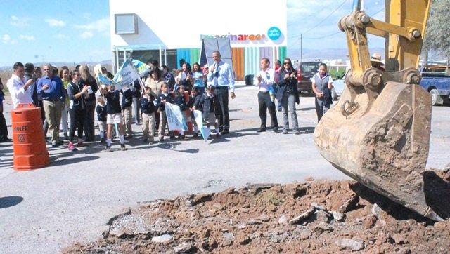 ¡Inicia Municipio de Jesús María pavimentación en avenida Zaragoza!