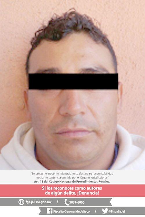 ¡Resultó ser ex policía municipal uno de los tres narco pistoleros detenidos en Lagos de Moreno!