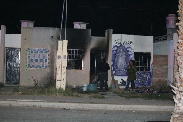 ¡Ancianita murió calcinada y su nieta resultó lesionada tras incendiarse su casa en Aguascalientes!