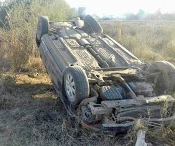 ¡Joven murió tras la volcadura de su automóvil en Aguascalientes!