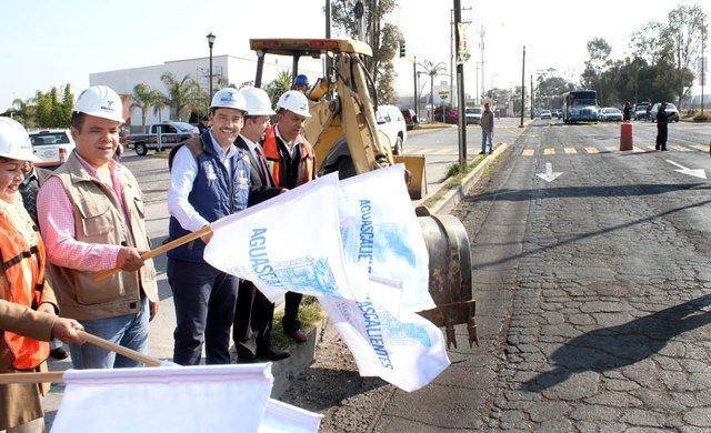 ¡Pone en marcha administración del alcalde JAMC importantes proyectos en materia de obra pública!