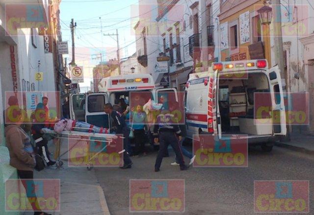 ¡Varios lesionados tras el choque entre un tráiler y una camioneta en Lagos de Moreno!