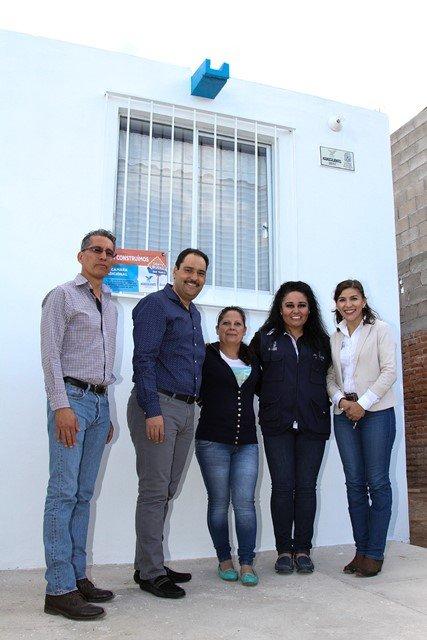 ¡Histórica inversión del Gobierno Municipal de Aguascalientes en construcción de cuartos adicionales!