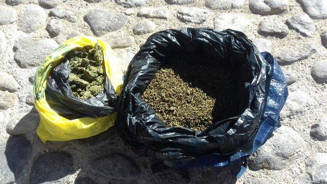 """¡Detuvieron al narcotraficante """"El Chino"""" con 2 kilos de marihuana en Aguascalientes!"""