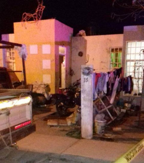 ¡Ejecutaron a padre e hijo dentro de su casa en Calera, Zacatecas!
