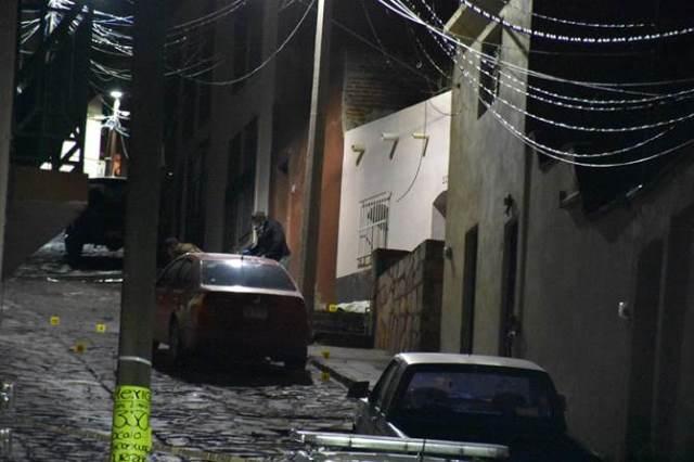¡Masacraron a un sujeto a balazos en Zacatecas!