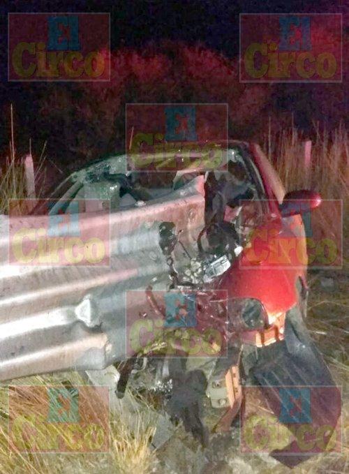 ¡Empleada del DIF Municipal de Jerez tuvo una espantosa muerte en accidente!