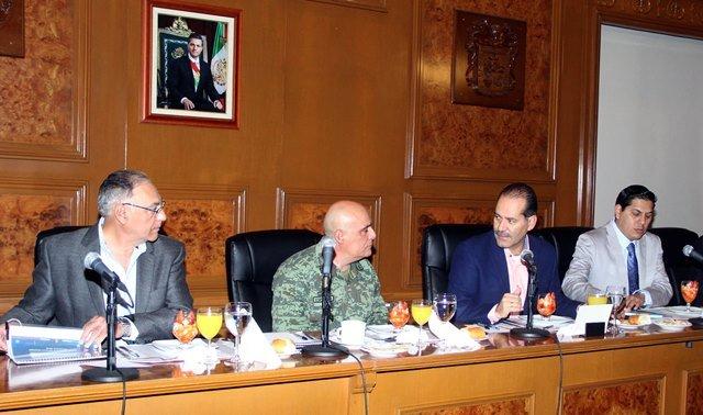 ¡Encabeza gobernador reunión de seguridad con los tres niveles de gobierno!