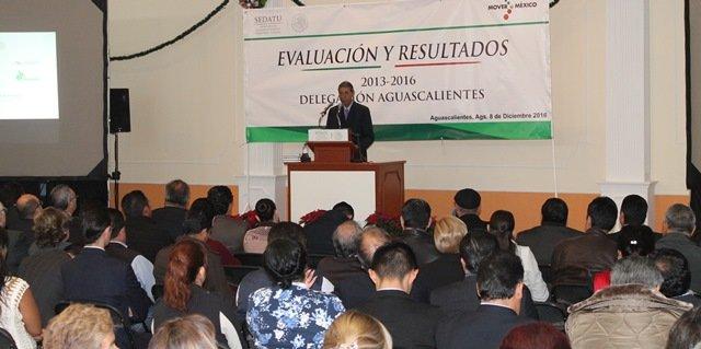 """¡Presentó Isidoro Armendáriz """"Evaluación y Resultados 2013-2016"""" de la SEDATU!"""