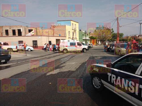 ¡Grave niño atropellado por un motociclista en Lagos de Moreno!