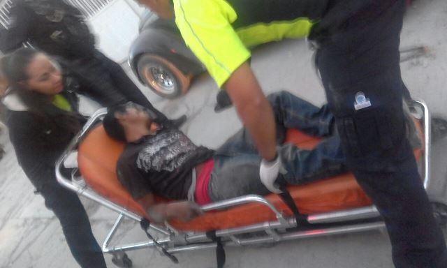 ¡Ladrón de borregas fue baleado por el dueño de los animales en Jalisco e internado en Aguascalientes!