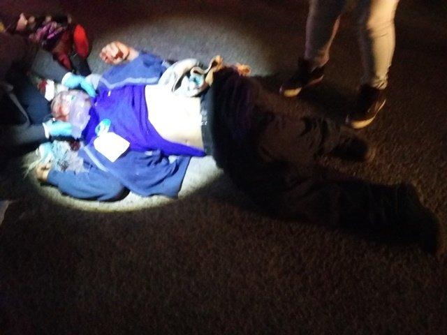 ¡Grave empleado atropellado por una camioneta en Aguascalientes!