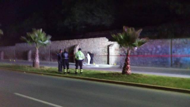 ¡Hombre se mató tras una caída de motocicleta en Fresnillo!