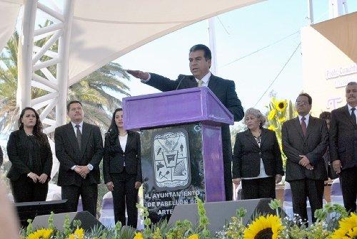 ¡Cuauhtémoc Escobedo tomó protesta como alcalde de Pabellón de Arteaga!