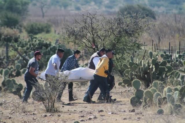 ¡Torturaron y ejecutaron a un guardia de seguridad del IMSS en Calera!