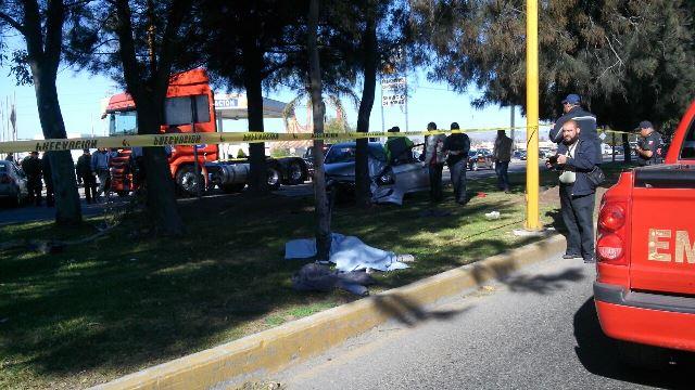 ¡1 muerto y 6 lesionados tras fatal accidente en Aguascalientes!