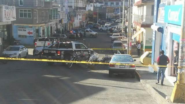 ¡Ejecutaron a un joven en la avenida San Marcos en Zacatecas!