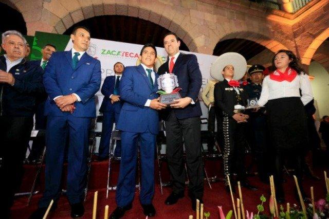 ¡En Zacatecas el deporte es de todos y para todos: gobernador Alejandro Tello!
