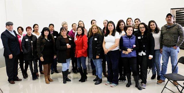 ¡Secretarias del Ayuntamiento de Calvillo recibieron curso de capacitación y asesoría!