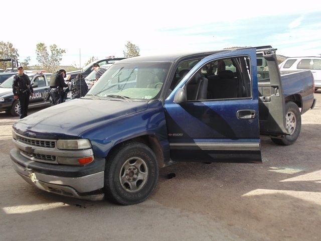 ¡Cayeron 4 asaltantes tras balacera y persecución en Aguascalientes!