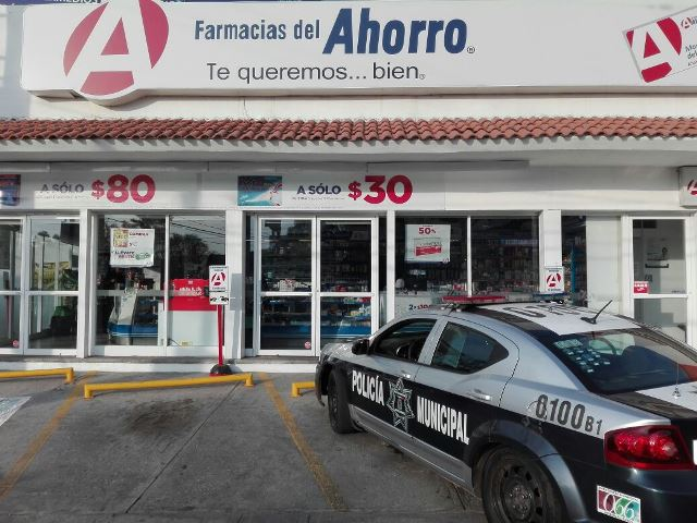 ¡Solitario pistolero asaltó otra farmacia en Aguascalientes!