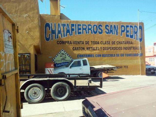 ¡Aseguraron camiones de carga en una chatarrera en Aguascalientes!