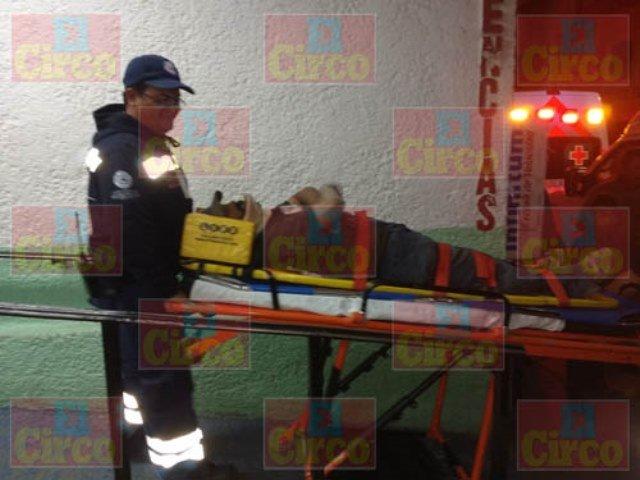 ¡Hombre lesionado tras ser atropellado por una camioneta en Lagos de Moreno!